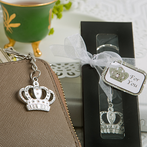 Fashion Craft's - Majestic Crown Key Chain Favor