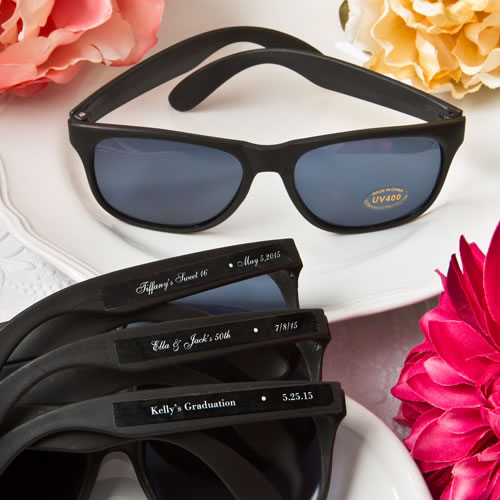 Fashion Craft's - Personalized Expressions Collection cool black sunglasses
