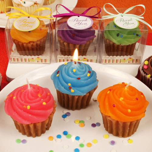 Cupcake Time Scented Candle Favors (Assorted) - RB7962