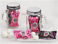 705-10-SWEET16-Mint Candy Favors with Mason Jar Sweet 16 Design