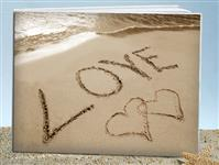 GB9617-Love on the beach guest book
