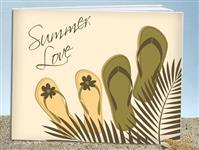 GB9625-Summer love guest book